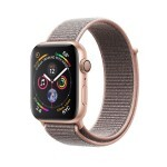 Apple Watch Series 4 (GPS) 40mm Gold Aluminum with Pink Sand Sport Loop (MU692)