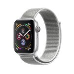 Apple Watch Series 4 (GPS) 44mm Silver Aluminum with Seashell Sport Loop (MU6C2)