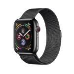 Apple Watch Series 4 (GPS + Cellular) 44mm Space Black Stainless Steel with Space Black Milanese Loop (MTV62, MTX32)