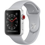 Apple Watch Series 3 (GPS + Cellular) 42mm Silver Aluminum with Fog Sport Band (MQK12)
