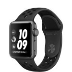 Apple Watch Nike+ Series 3 (GPS) 38mm Space Gray Aluminum Case with Anthracite/Black Nike Sport Band (MQKY2)