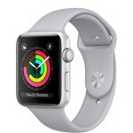 Apple Watch Series 3 (GPS) 42mm Silver Aluminum with Fog Sport Band (MQL02)