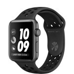 Apple Watch Nike+ Series 3 (GPS) 42mm Space Gray Aluminum Case with Anthracite/Black Nike Sport Band (MQL42)